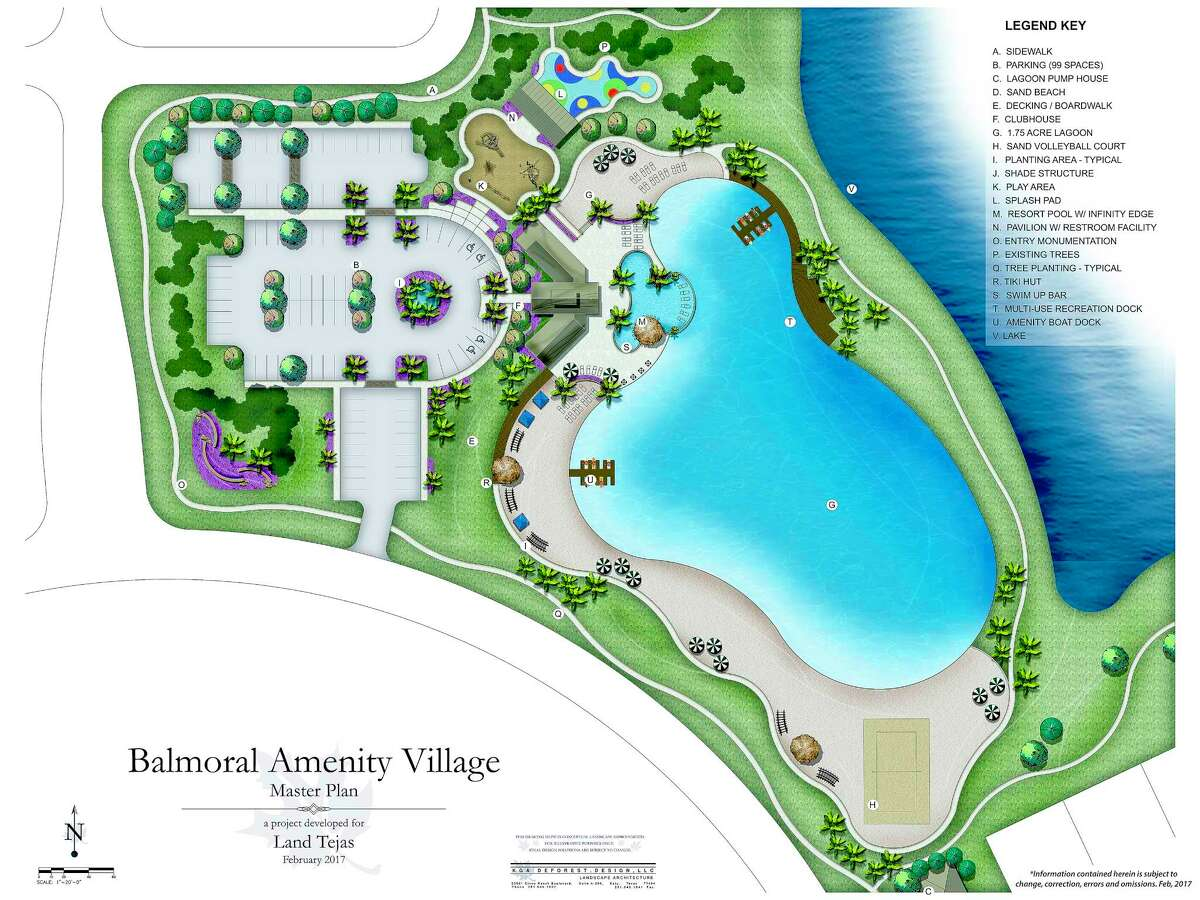 The 1 1/2 acre lagoon at Balmoral in northeast Houston is expected to open by summer 2018.