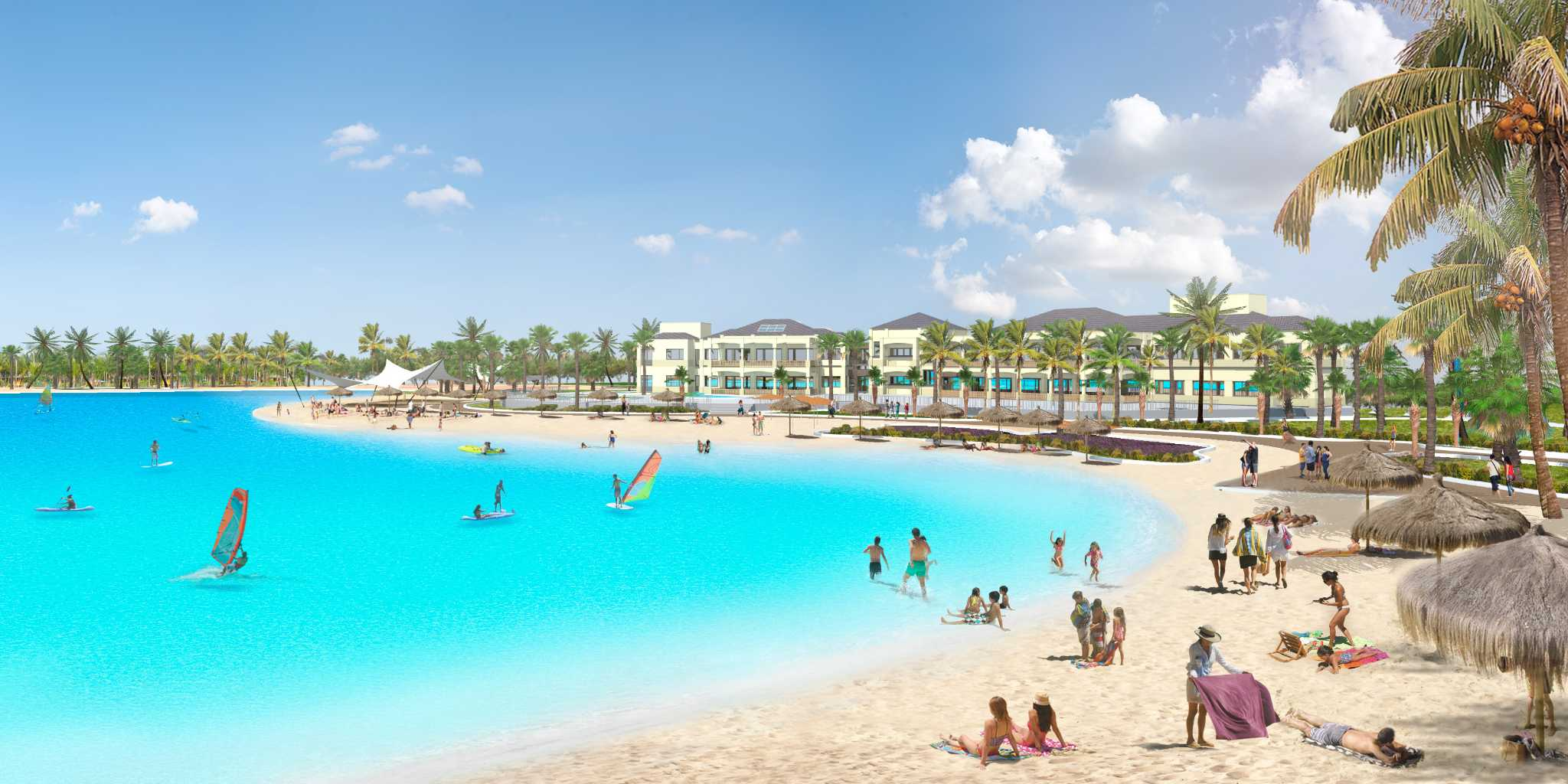 Caribbean Style Lagoon Coming To Houston Area Development
