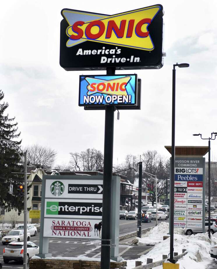 The area's second Sonic opens in the Hudson River Commons on Hoosick Street Wednesday Feb. 15, 2017 in Troy, NY.  (John Carl D'Annibale / Times Union) Photo: John Carl D'Annibale