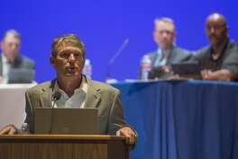 MISD school board members meet for a meeting Monday 02-13-17. Tim Fischer/Reporter-Telegram