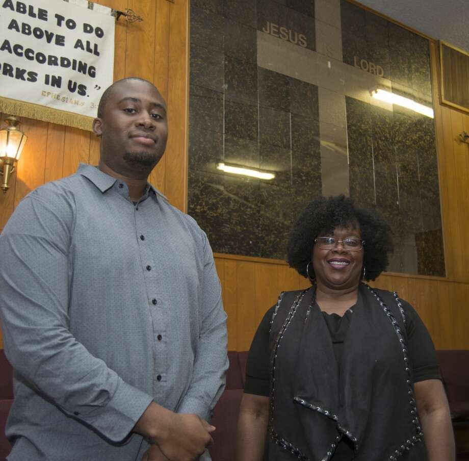 Jermaine Packer and Comstance Roberts are helping spearhead Unapologetically Black, a three-day event as part of Black History Month. Wednesday 02-15-17. Tim Fischer/Reporter-Telegram Photo: Tim Fischer/Midland Reporter-Telegram