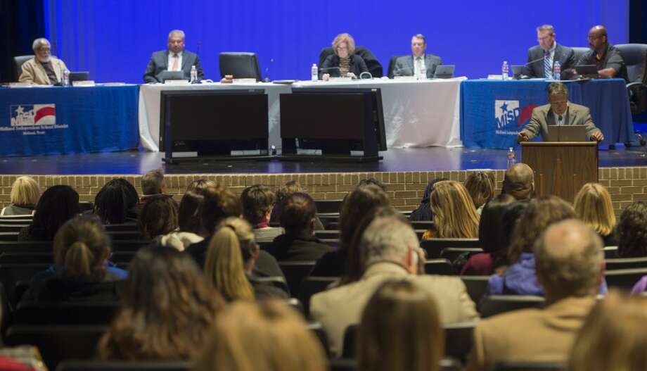Trustees voted 4-1 on Monday on a request for a memorandum of understanding between MISD and the Young Women's Preparatory Network. The agreement is related to a college preparatory school for female students.  Photo: Tim Fischer/Midland Reporter-Telegram
