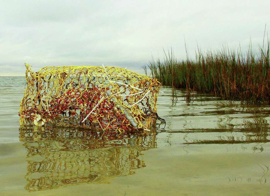 More than 40 species of marine life have been found in derelict crab traps removed from Texas bays by volunteers during the state's annual crab trap closure/removal period, this year set for Feb. 17-26. Photo: Shannon Tompkins /Houston Chronicle