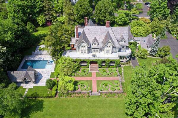 8. 44 Mayo Ave, Greenwich, CT 06830    7 beds 7 baths 12,411 sqft   Price:  $22,000,000     View full listing on Zillow