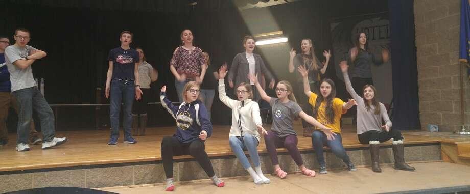 """Warrensburg Jr./Sr. High School presents""""Godspell"""" at 7:30 p.m., March 30-April 1 Photo: Warrensburg High School"""