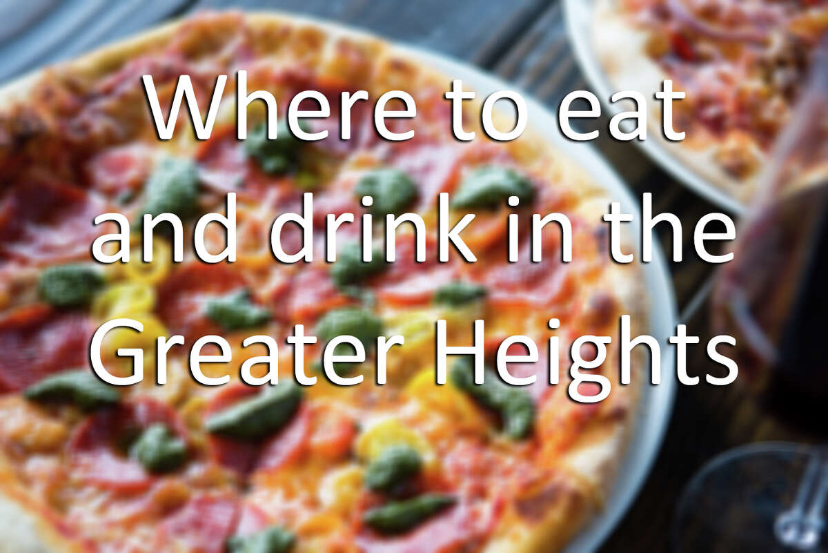 Click to see the essential bars and restaurants in Houston's Greater Heights.