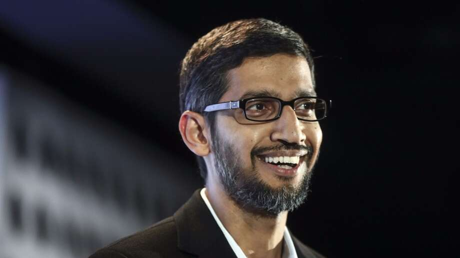 Sundar Pichai, chief executive officer of Google Inc. Photo: Bloomberg | Getty Images