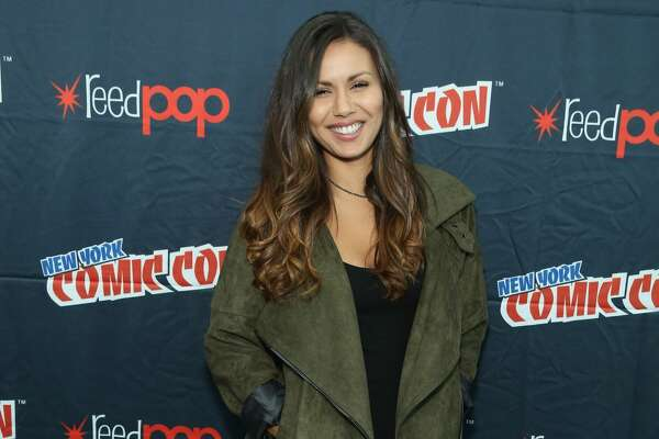 NEW YORK, NY - OCTOBER 09: Actress Olivia Olson attends the Adventure Time Cartoon Network Press Hour at New York Comic Con 2015 at the Jacob Javitz Center on October 9, 2015 in New York, United States. 25749_002 533.JPG (Photo by Cindy Ord/Getty Images For Turner)