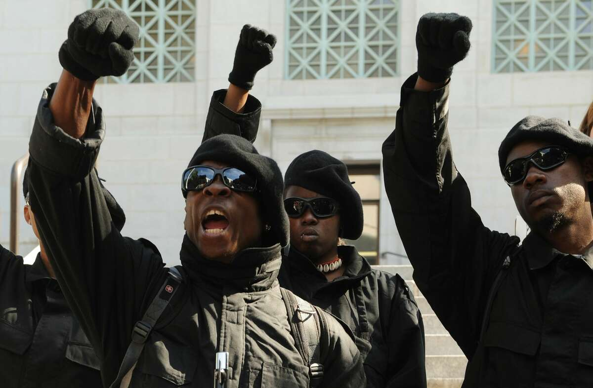 Group:New Black Panther Party Type: Black nationalistLocated in: HoustonSource: Southern Poverty Law Center
