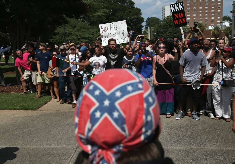Group:League of the SouthType: Neo-confederateLocated in: San Antonio, PointblankSource: Southern Poverty Law Center Photo: John Moore/Getty Images