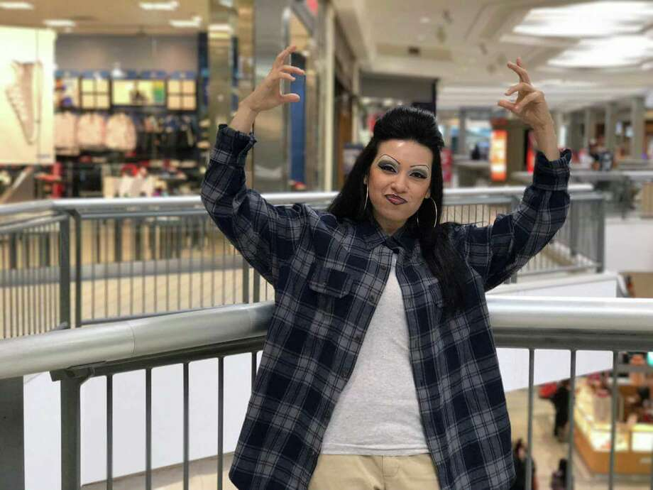 "Myra Alix, a 35-year-old legal assistant, thought up and began playing the chola ""La Tiny"" in May 2016 after two friends suggested the idea. Photo: Courtesy, Myra Alix"