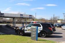 A robbery at a Chase Bank at the 700 block of Bandera prompted a large police response on Thursday, Feb. 16, 2017.