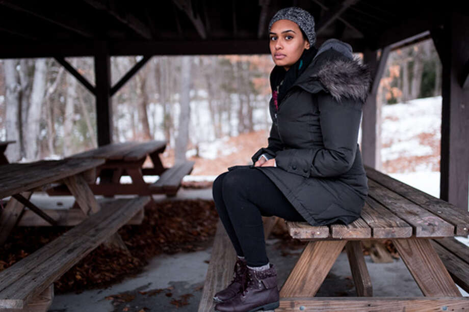 "When Sanna Dilawar reported a domestic assault, police in Torrington, Connecticut, arrested her along with her husband under a procedure known as ""dual arrests."" Photo: David ""Dee"" Delgada For ProPublica"