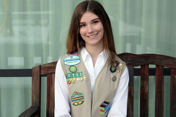 Erin Bronner, senior at Wilton High School, is one of 11 Girl Scouts from Wilton to have received the Girl Scout Gold Award.