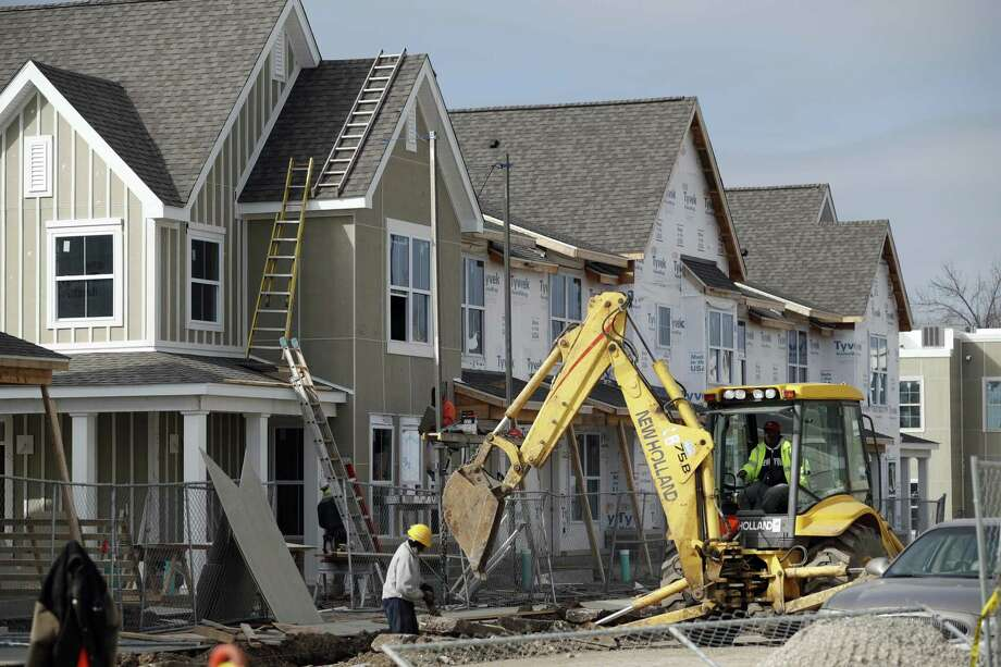 The number of new housing starts declined 2.6 percent in January to a seasonally adjusted annual rate of 1.25 million, the Commerce Department said Thursday. Even with the decline, new-home construction has increased 10.5 percent in the past year. Photo: Jeff Roberson /Associated Press / Copyright 2017 The Associated Press. All rights reserved.
