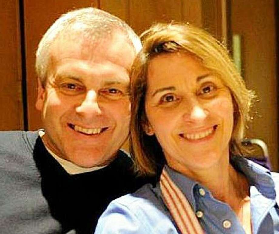 Jeffrey and Jeanette Navin, owners of J&J Refuse. Photo: Contributed Photo / Westport News