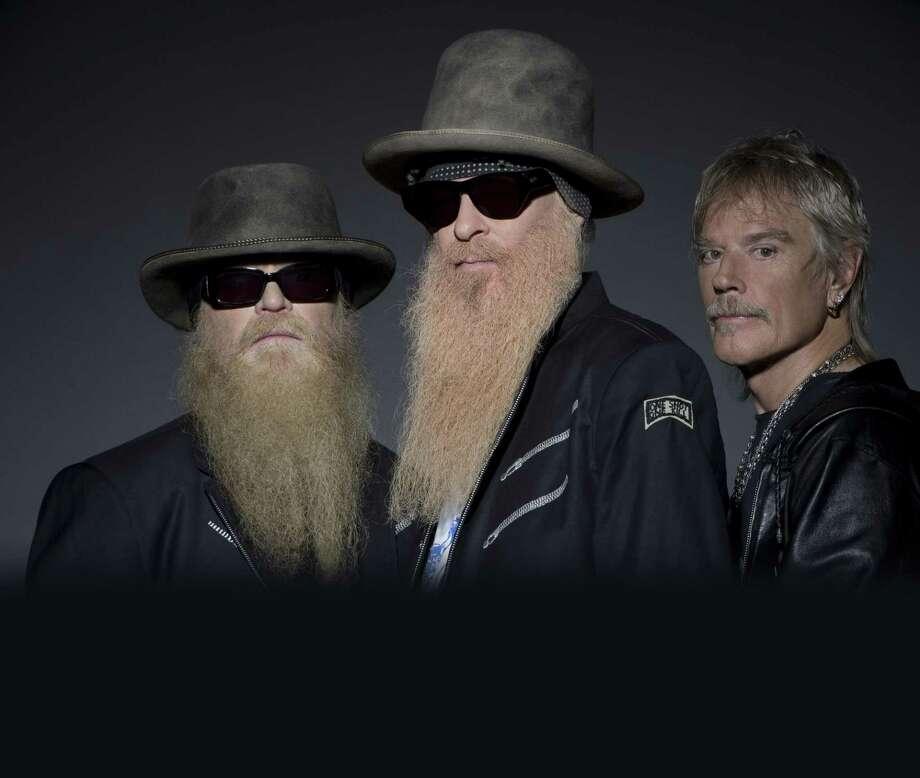 ZZ Top: Billy Gibbons, Dusty Hill, Frank Beard Photo: Ross Halfin / handout