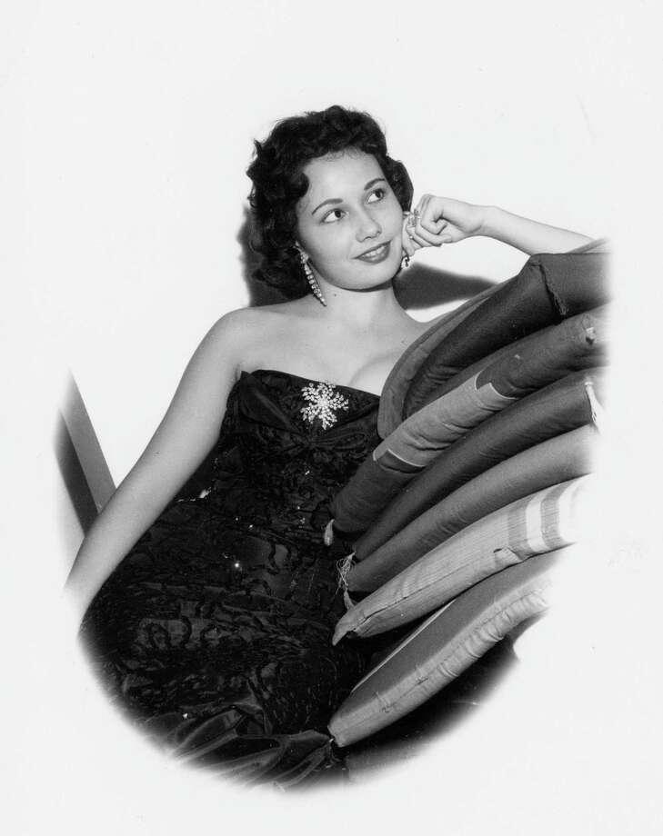 Nightclub singer Dandy Barrett, circa 1959. Photo: Houston Chronicle Files / handout / Houston Post files