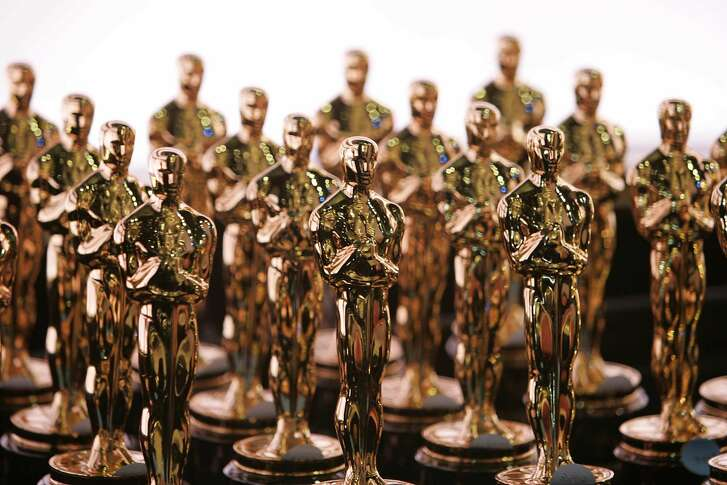 [Seib, Al -- - Oscar statuettes in waiting at the 79th Annual Academy Awards on Sunday, February 25, 2007 at the Kodak Theatre in Los Angeles, California. Photo Credit Al Seib/Los Angeles Times] *** []