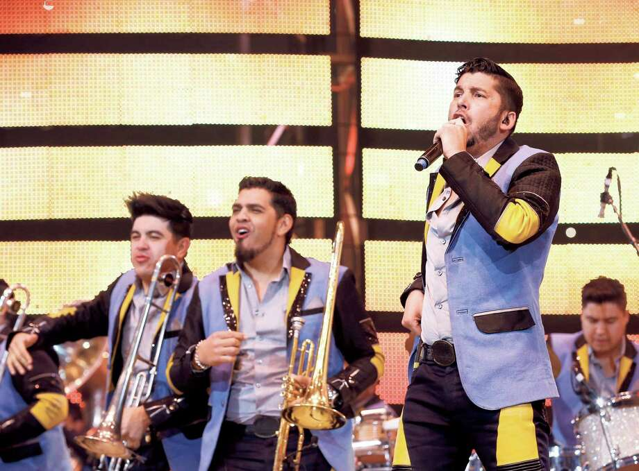 Banda Los Recoditos perform at the Houston Livestock Show and Rodeo Sunday, March 13, 2016, in Houston. ( Jon Shapley / Houston Chronicle ) Photo: Jon Shapley, Staff / © 2015  Houston Chronicle