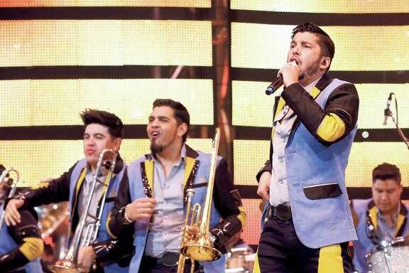 Banda Los Recoditos perform at the Houston Livestock Show and Rodeo Sunday, March 13, 2016, in Houston. ( Jon Shapley / Houston Chronicle )