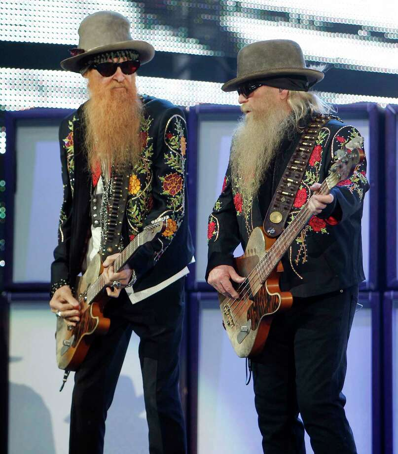 ZZ Top performs March 21. Photo: James Nielsen, Staff / © 2011 Houston Chronicle