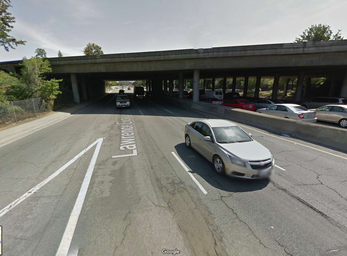 I-280 over Lawrence Expressway San Jose 280 over the Lawrence Expressway isn't quite as bad as some of bridges on this list, but its deck condition is still considered poor, earning it a