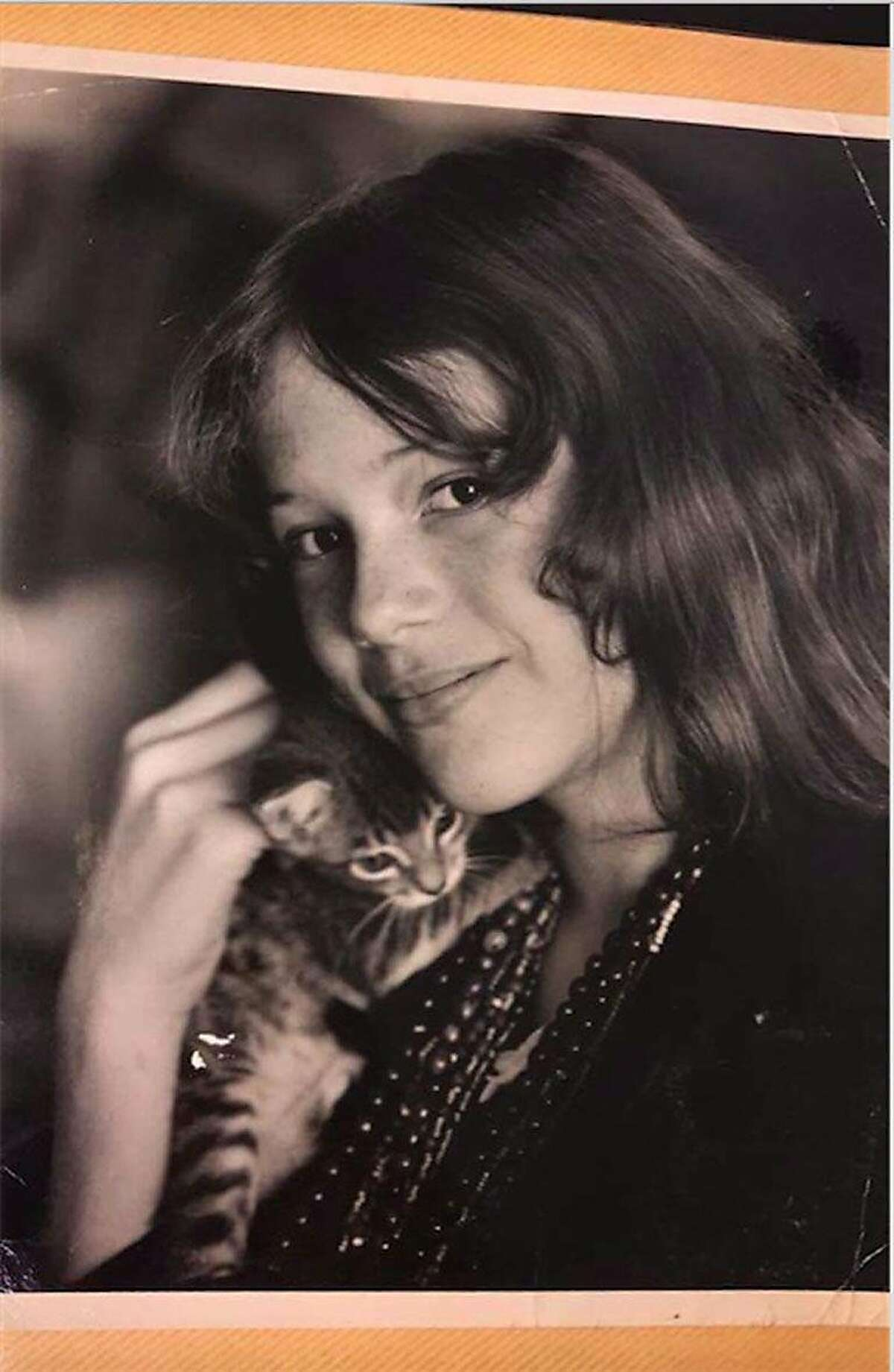 Katherine Poppy when she lived in the Haight-Ashbury in the 1960s.