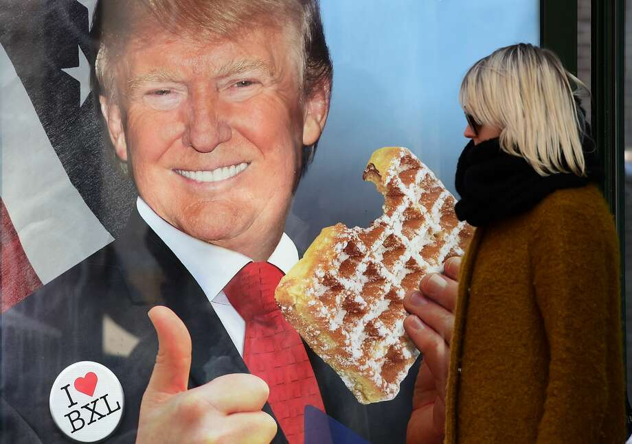 Trump's a big fan of fast food.According to close aides, Trump would often eat Domino's, McDonalds, and KFC while campaigning and even in the White House. Photo: EMMANUEL DUNAND/AFP/Getty Images