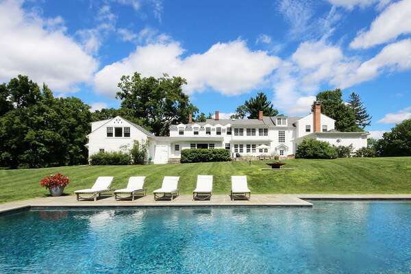 """Brook Farm,"" at 845 North Salem Road in Ridgefield, Conn. belonged to Eugene O'Neill in the 1920s. He wrote ""Desire Under the Elms"" while living there. The farm house sits on 16 acres, which feature a pool, pond, walking trails and a zip line."