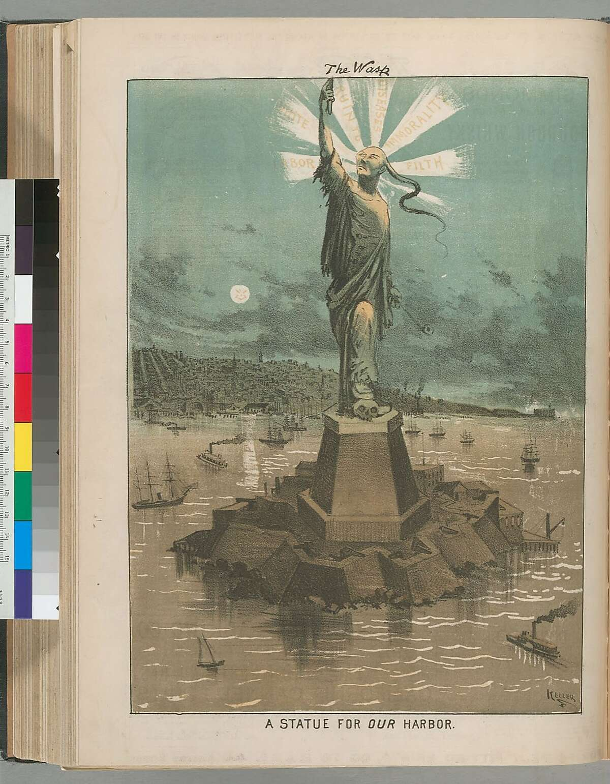 """A still from """"Chinese Exclusion Act,""""� showing at CAAMFest 35"""