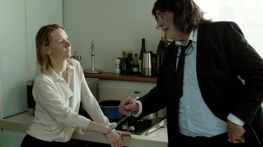 "This image released by Sony Pictures Classics shows Sandra Huller as Ines, left, and and Peter Simonischek as Winfried in a scene from the Komplizen Film, ""Toni Erdmann."" The film was nominated for an Oscar for best foreign language film on Tuesday, Jan. 24, 2017.  The 89th Academy Awards will take place on Feb. 26.  (Sony Pictures Classics via AP) ORG XMIT: NYET241 Photo: Komplizen Film / Sony Pictures Classics"