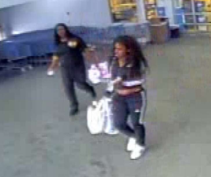 The Montgomery County Sheriff's Office is requesting the public's assistance in identifying two women who were involved in a theft from the Walmart near Porter.