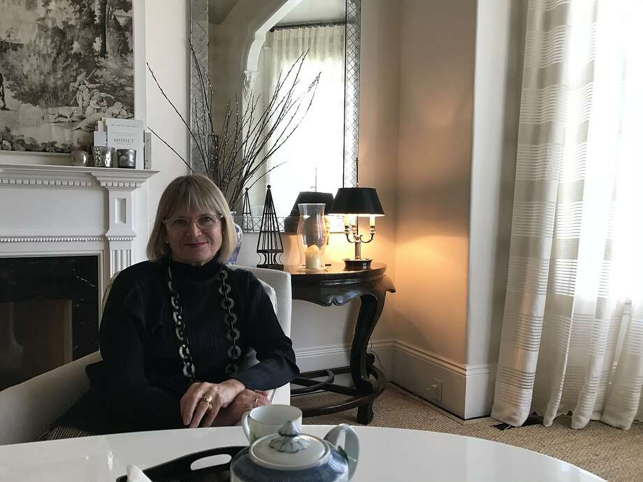 Wine critic Jancis Robinson, as seen in San Francisco on Feb. 16, 2017. Photo: Esther Mobley