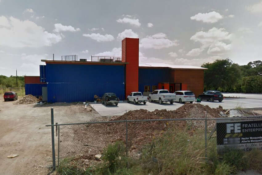 The Pod Restaurant: 18745 Redland Road, San Antonio, Texas 78259Date: 02/10/2017 Score: 82Highlights: Baked breads were stored in garbage bags, no paper towels available at hand washing sinks, toxic spray bottles were stored next to sliced lemons and clean equipment, expired mushrooms seen in the reach-in cooler, food not protected from cross contamination (whole tomatoes stored in bin above sliced lettuce).