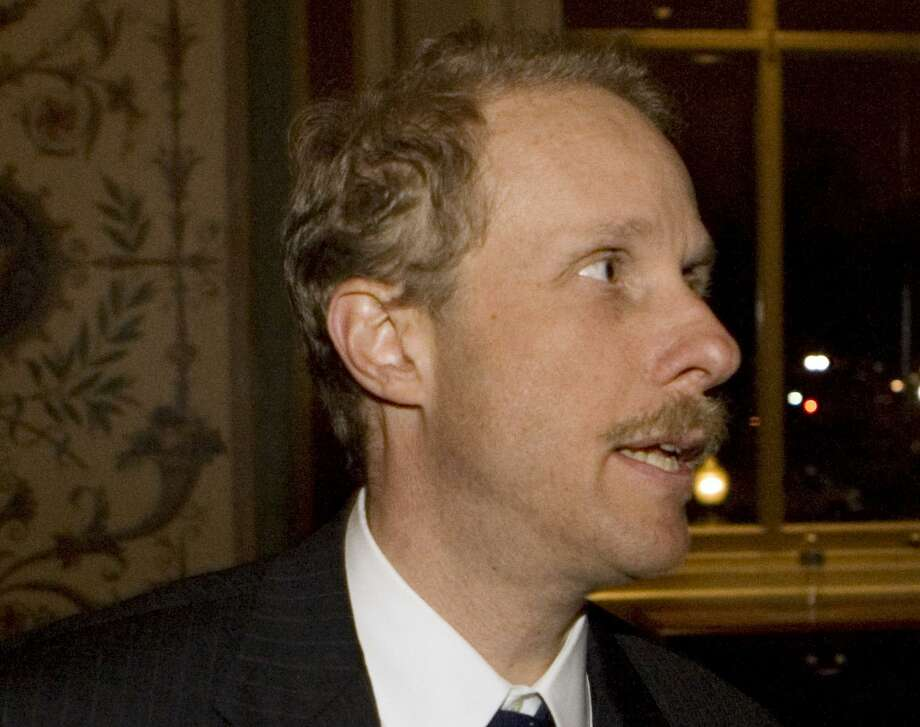 "Stephen Feinberg is seen on Capitol Hill in Washington in 2008. The Trump administration has asked the Feinberg, the founder of a New York-based private equity firm to lead a review of the U.S. intelligence community as President Donald Trump vows to crack down on what he describes as ""illegal leaks"" of classified information. Photo: Haraz N. Ghanbari / Associated Press File / AP2008"