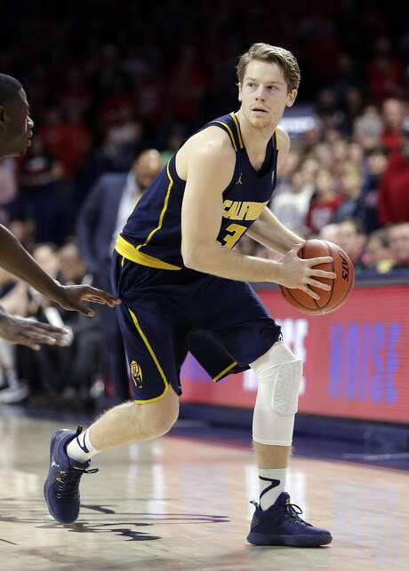 Cal guard Grant Mullins is averaging 10 points a game and is shooting 42.7 percent on three-pointers, eighth in the Pac-12. Photo: Rick Scuteri, Associated Press