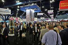 More than 10,000 people attended the NAPE Summit at the George R. Brown Convention Center this week.