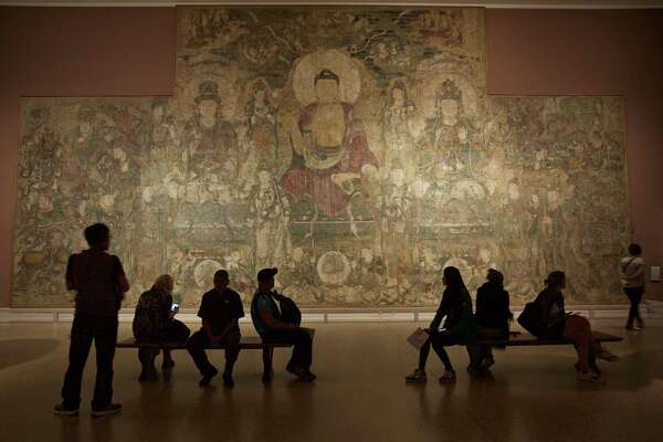 The entrance to the Asian Art wing of the Metropolitan Museum of Art, in New York, Sept. 22, 2016. The Met is one of the most pre-eminent cultural institutions in the world.