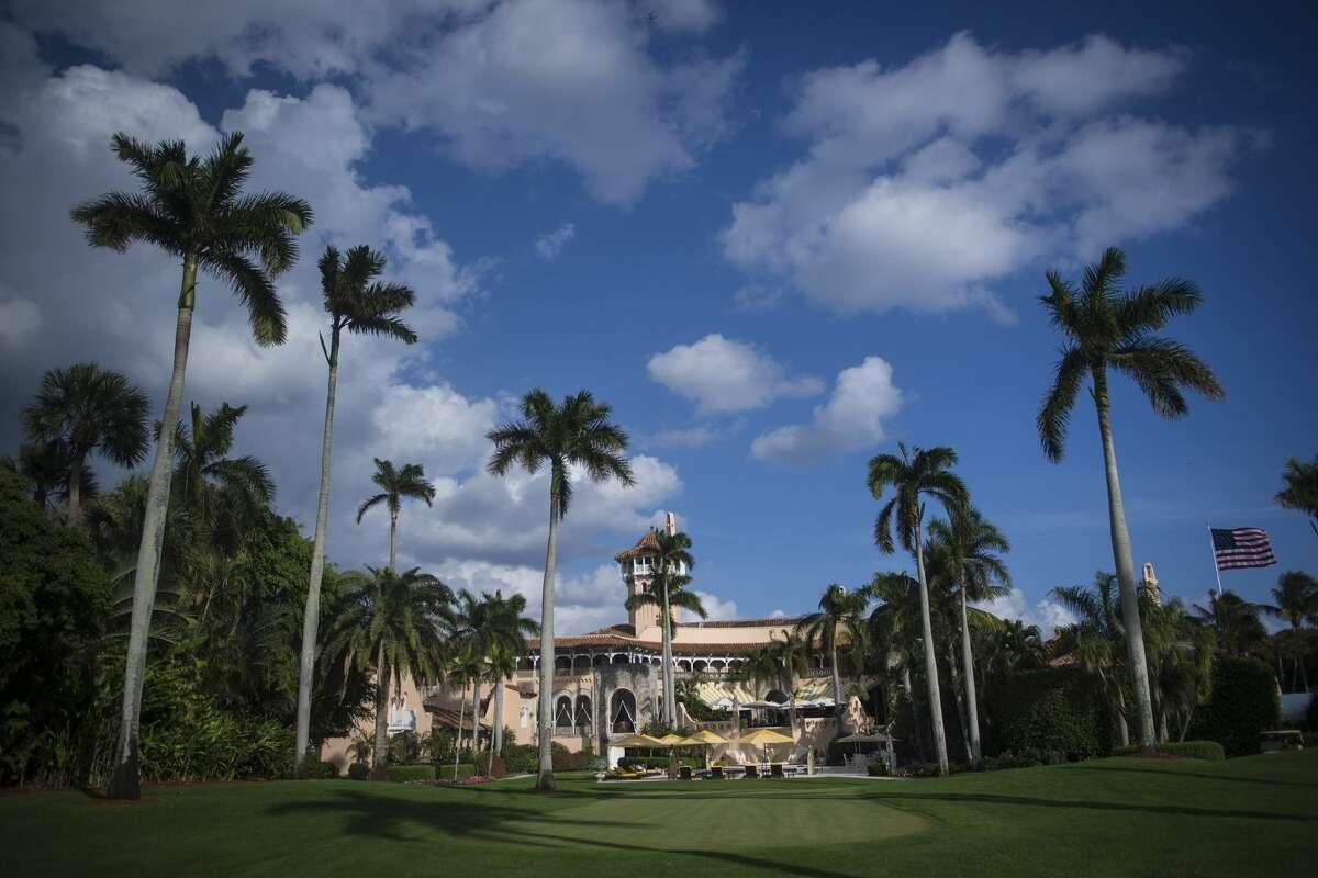 President Donald Trump's Mar-a-Lago Club in Palm Beach, Fla., seen here in November.