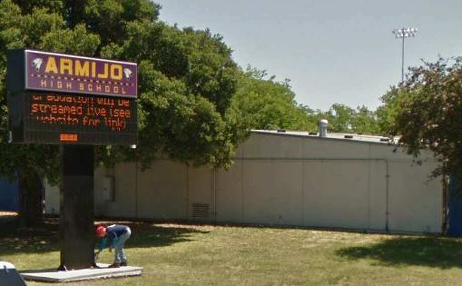 Armijo High School in Solano County. Click through the gallery for a look at names and monuments that have been criticized for their associations with racism. Photo: Google Maps / Google Maps