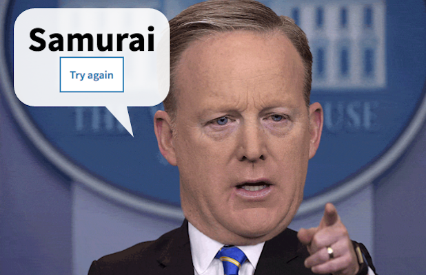 Take Your Turn With the Sean Spicer Name Generator ...
