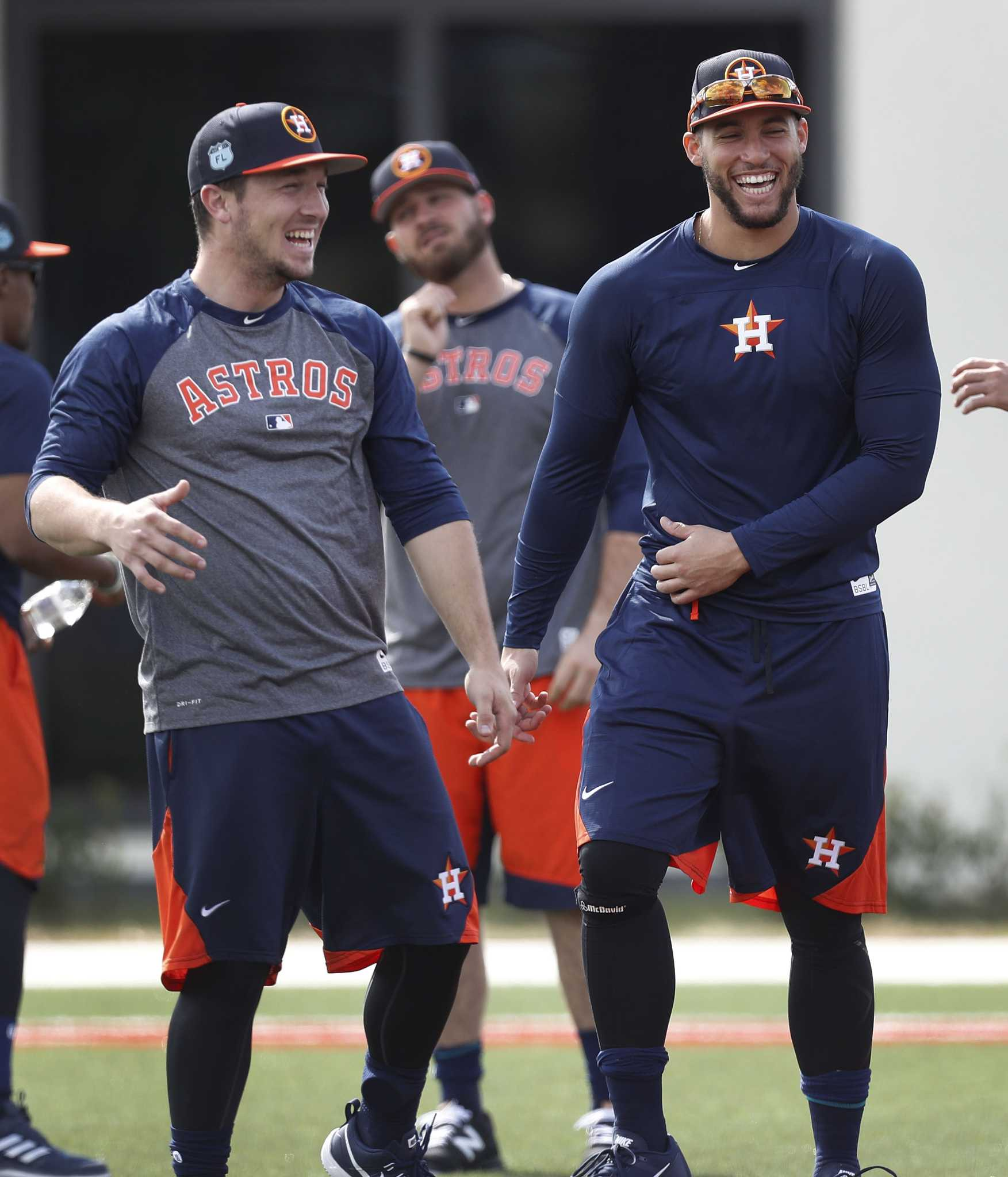 best cheap 0f79b d86cf Astros can count on exuberant vibe from George Springer ...