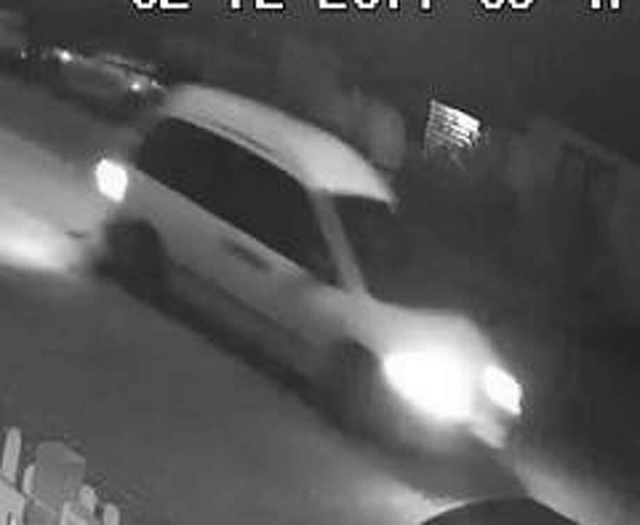 Police in San Leandro are searching for a modified white van that may be connected to a road rage shooting that left a father of two dead Sunday. Photo: San Leandro Police Department / San Leandro Police Department