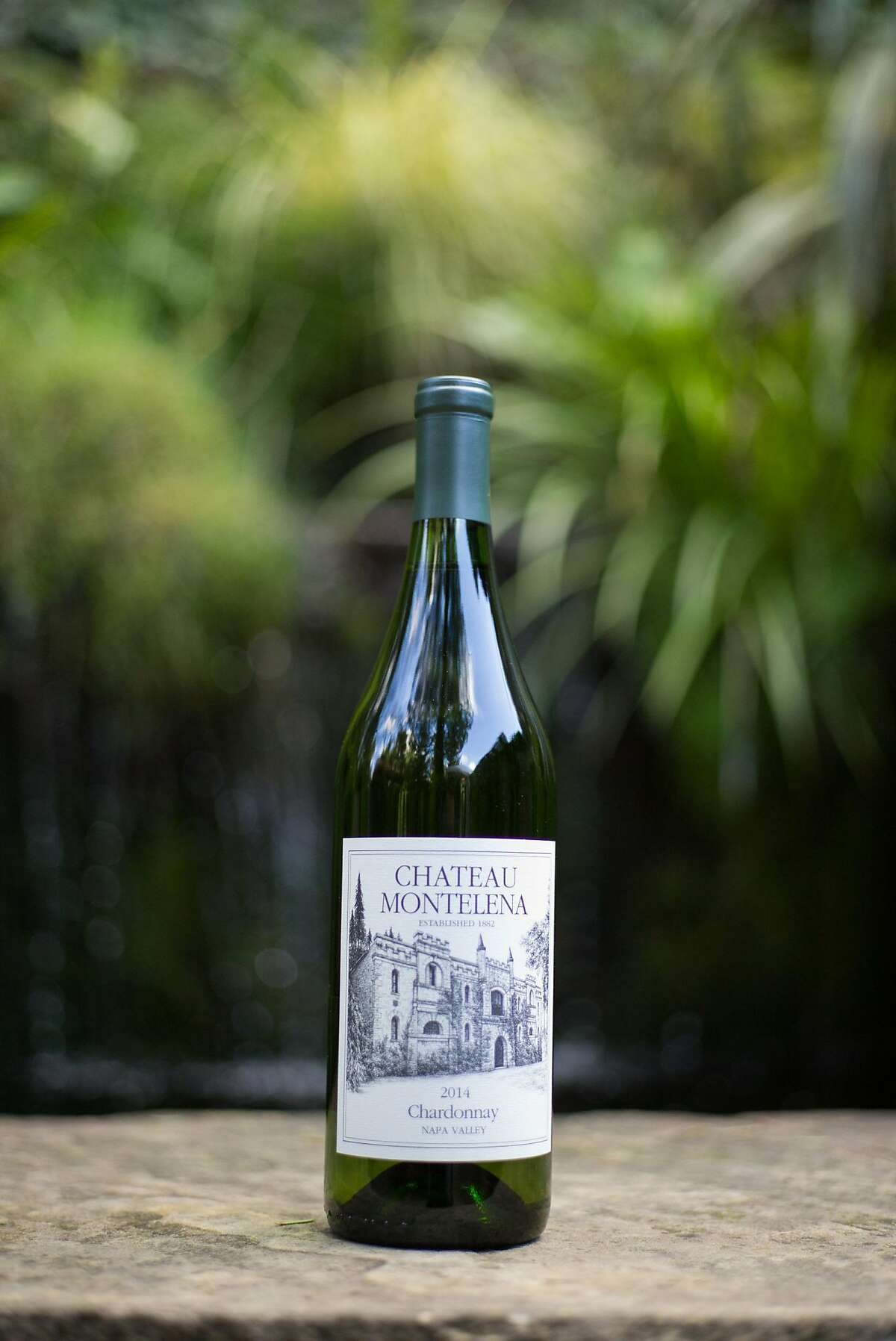 The Chardonnay is seen at Chateau Montelena in Oakville, Calif. on Thursday, Feb. 16, 2017. The winery also features a small pond on the property.