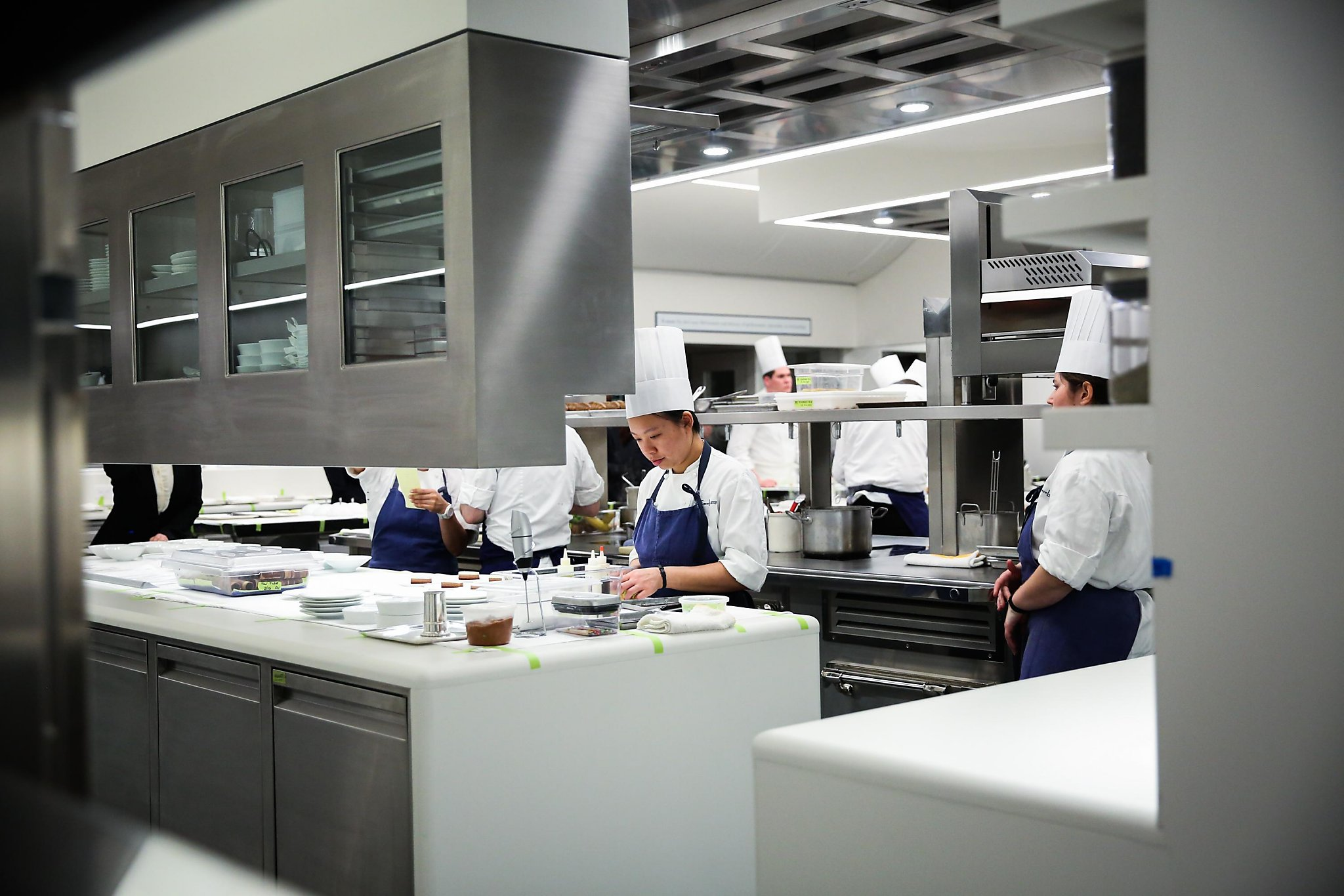inside the french laundrys new 10 million kitchen sfgate - Kitchen In French