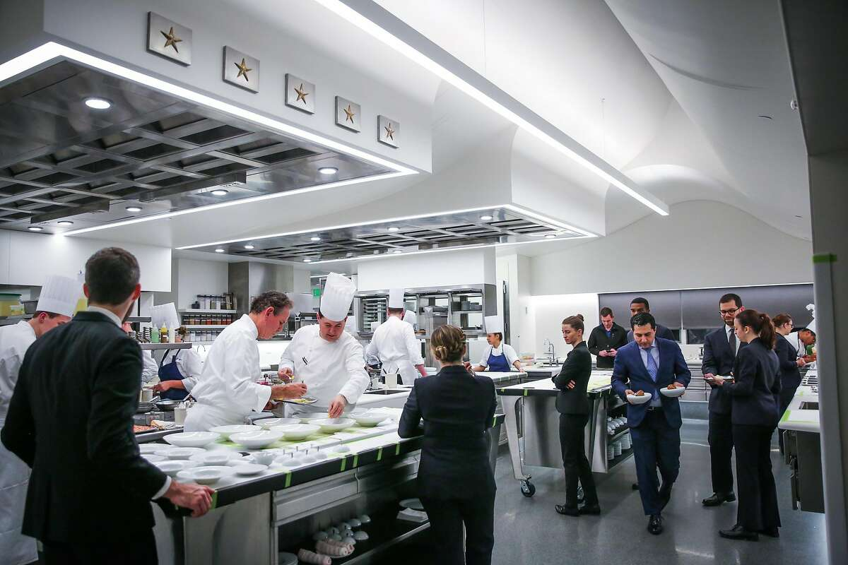 The kitchen at The French Laundry restaurant in Yountville, California, on Thursday, Feb. 16, 2017.