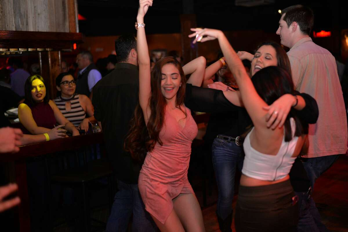 Ladies' night at Wild West had country-clad revelers twirling around the dancefloor all night on Thursday, Feb. 16, 2017.