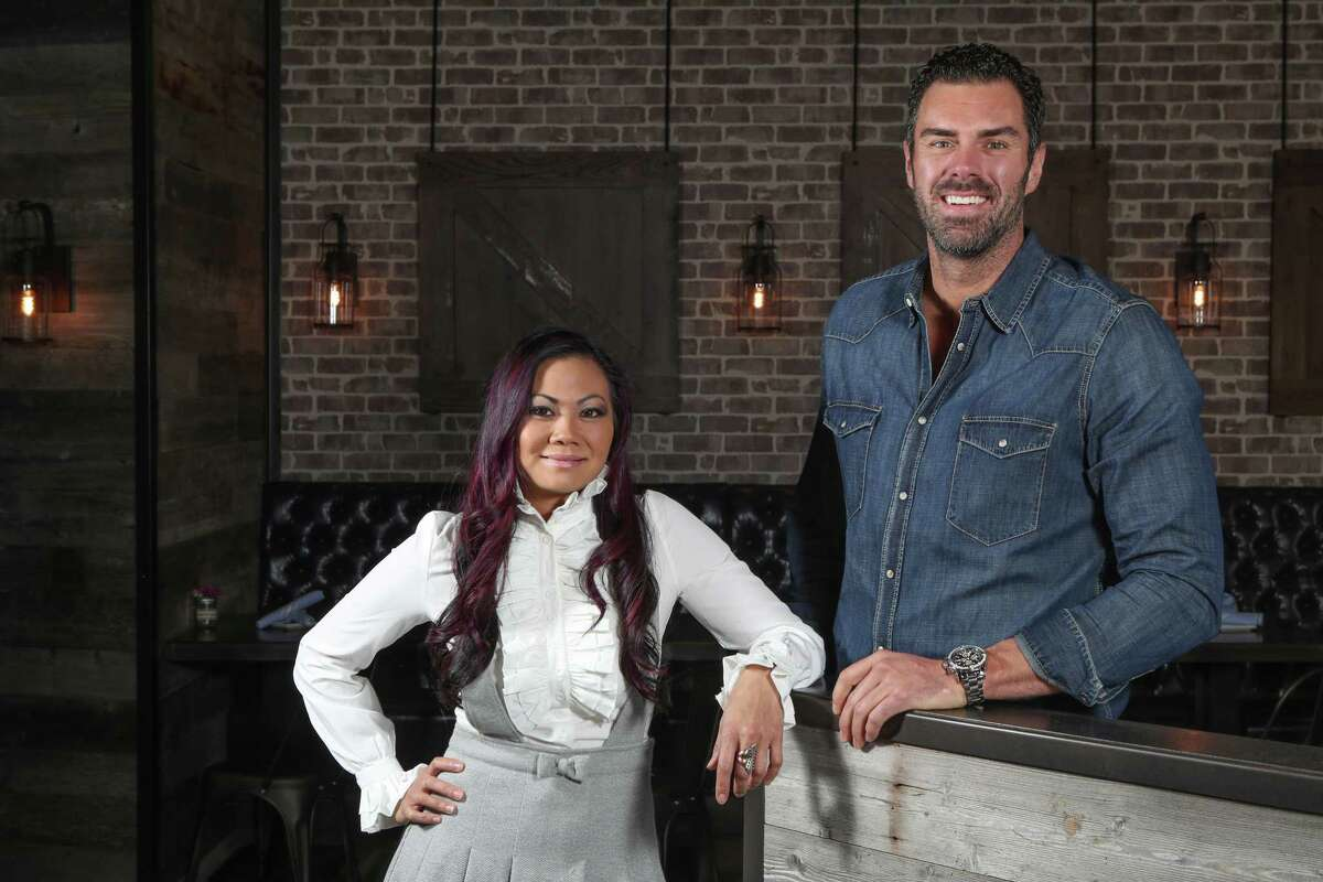 Leslie Nguyen and John Reed (pictured) who own Bosscat Kitchen & Libations with partner Vinnie Capizzi. The restaurant is set to open Feb. 22 in River Oaks.