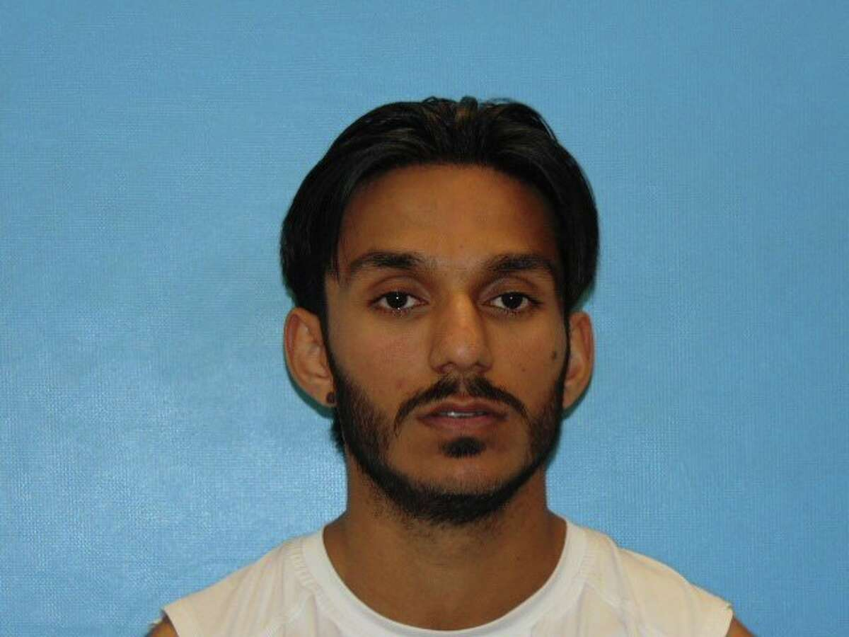 Sadaqat Abbasi was arrested at his Guadalupe County home on Thursday, Feb. 16, 2017, without incident on a stalking charge, a third-degree felony. He was booked into the Guadalupe County Jail on a $50,000 bond.